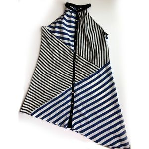 Anthropologie striped casual dress